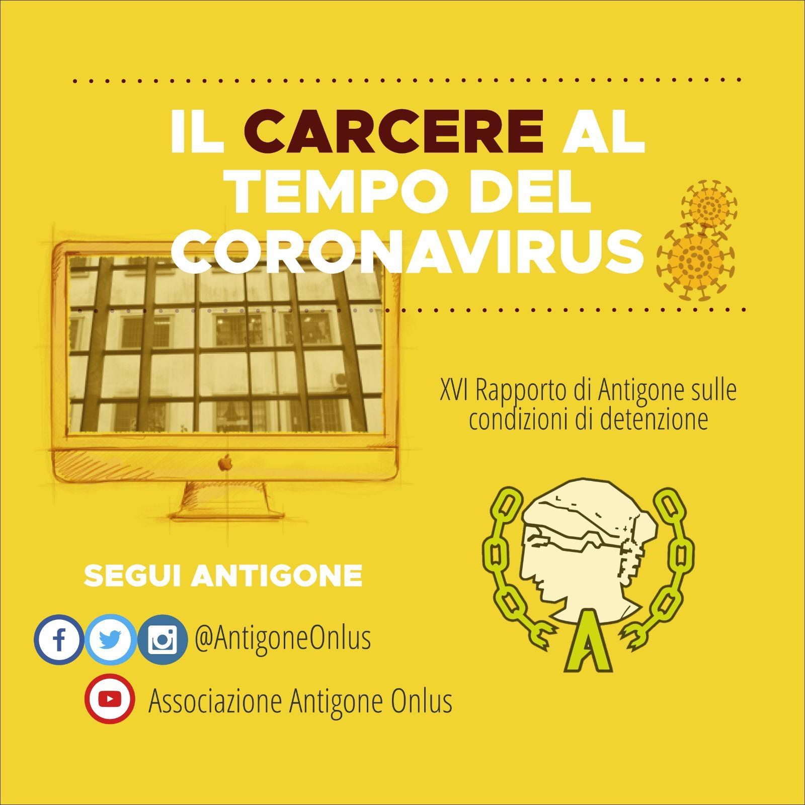 Banner XVI Rapporto Antigone