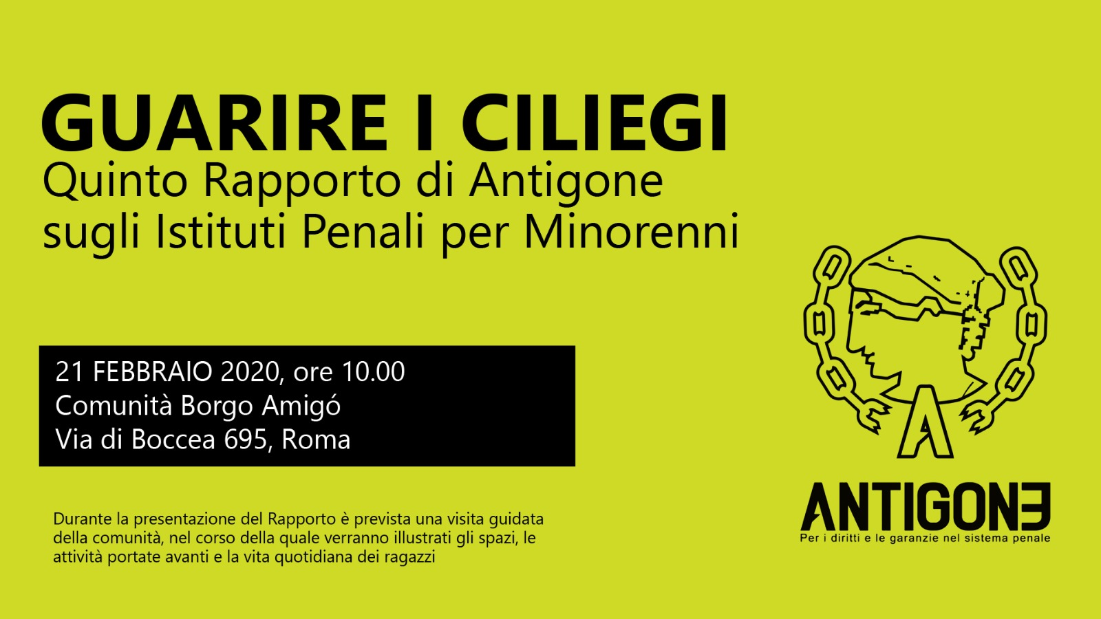 Guarire i ciliegi Antigone